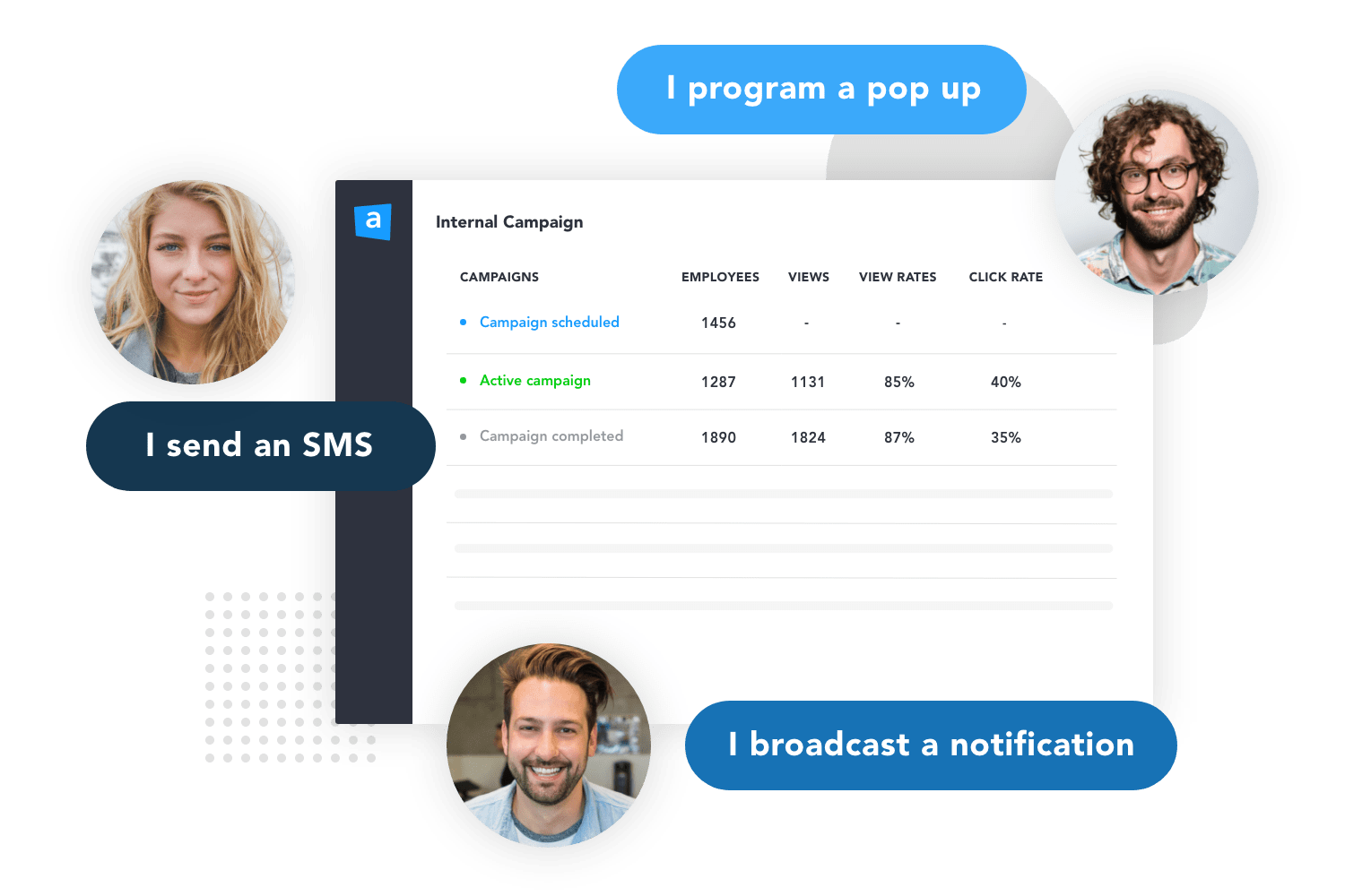 The platform to communicate with your team